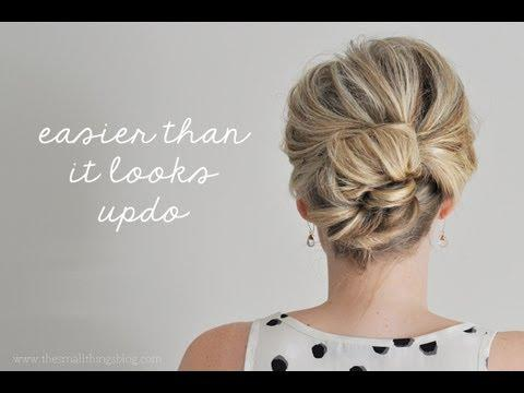 Easier Than It Looks Updo DIY Fashion Tips | DIY Fashion Projects