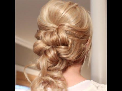 Romantic Chic Updo DIY Fashion Tips | DIY Fashion Projects