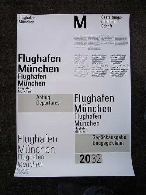 Traffic – Flughafen München Typeface | Flickr - Photo Sharing!