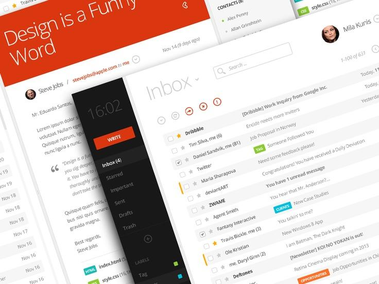 Beautiful and modern UI/UX designs
