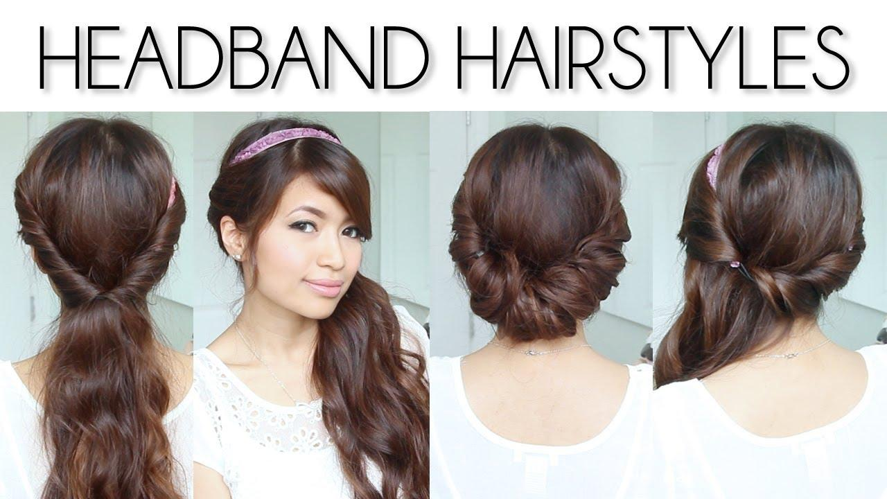 Headband Hairstyles for Short and Long Hair DIY Fashion Tips | DIY Fashion Projects