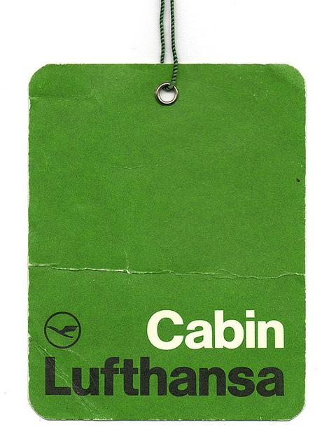 Lufthansa Cabin Label | Flickr – ?????