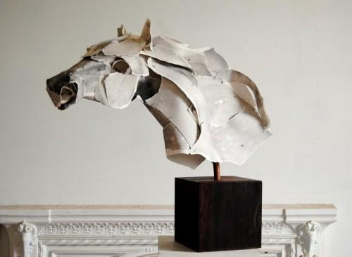 Torn Paper Sculptures by Anna-Wili Highfield | Colossal