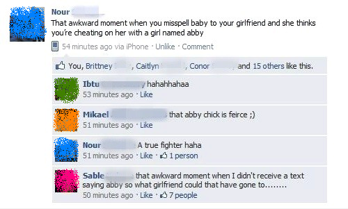 The Most Awkwardly Public Break-Ups In Facebook History | Happy Place
