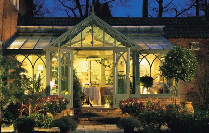 Bespoke traditional and classical conservatories from Amdega, the oldest conservatory supplier in the world.