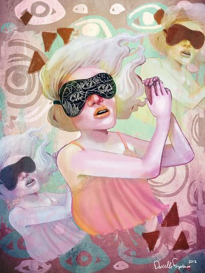 Dream another little dream Art Print by Danielle Feigenbaum | Society6