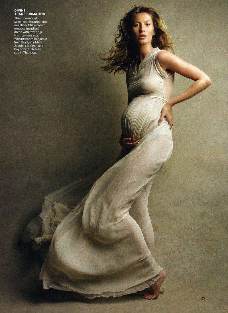 Gisele Bundchen | Vogue's 'Earth Mother' | Anne's Fertility Goddess - 8 Style | Sensuality Living - Anne of Carversville Women's News
