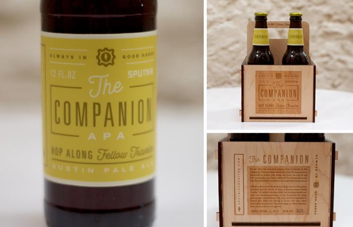 The CompanionAle - The Dieline -
