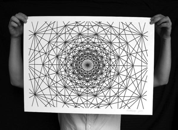 Numerically Controlled Sharpie Drawings | Colossal