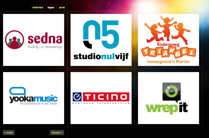 Momono Ontwerpwerk | bureau voor vormgeving: logos - Pattern Tap