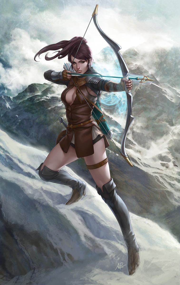 English Archer by `Artgerm