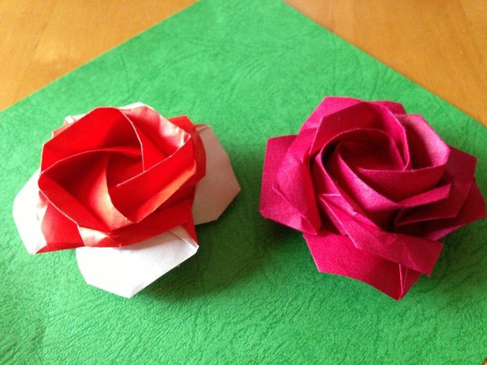 rose folding