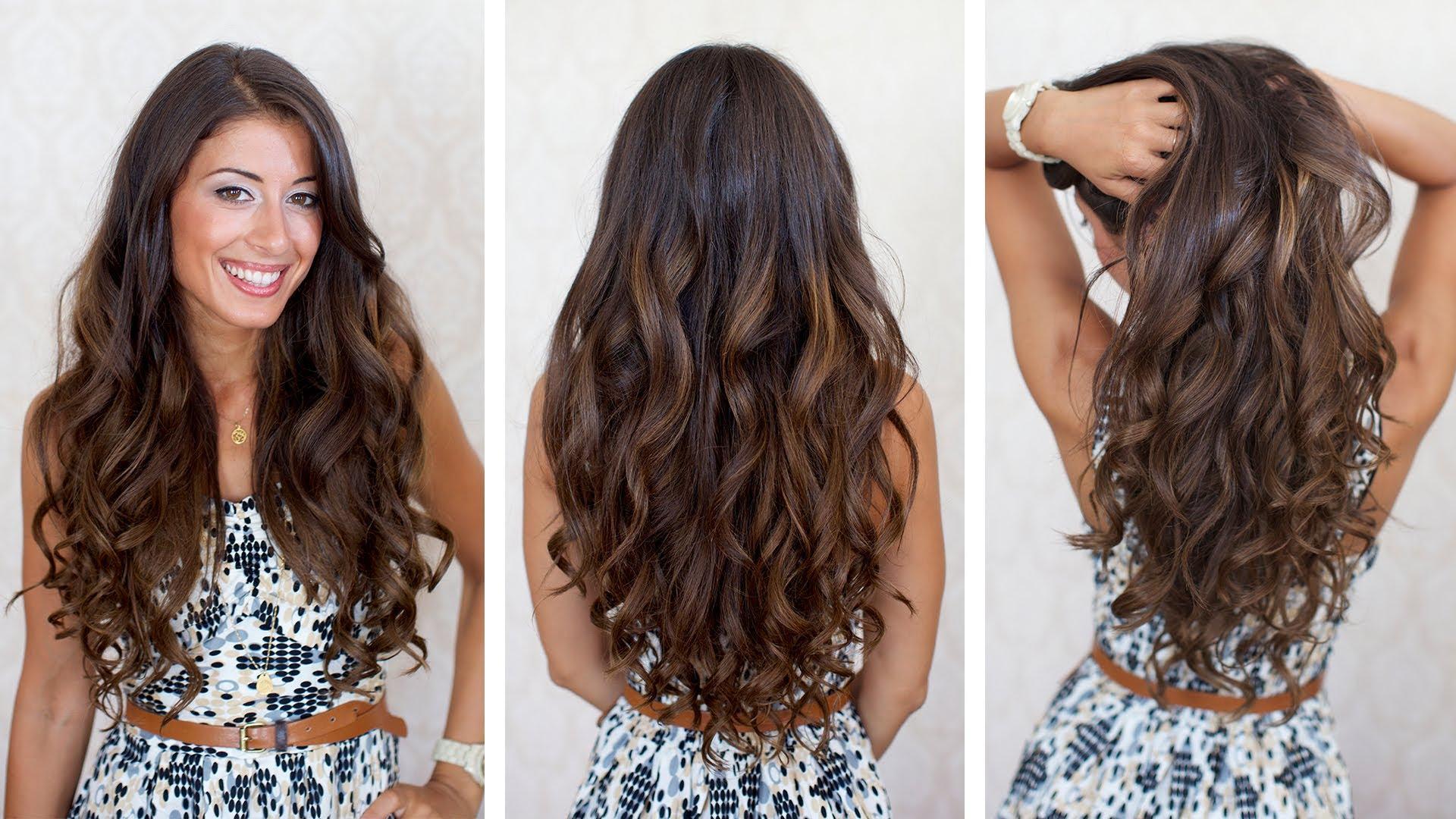 Big Voluminous Curls Hair Diy Fashion Tips Diy Fashion