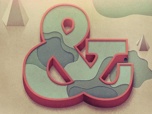 Beautiful Type — Another beautiful ampersand, in a different style,...