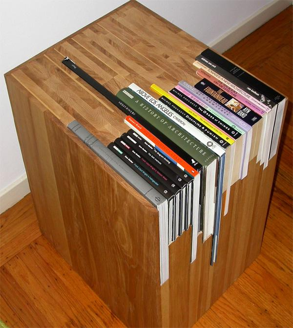 Customized book side tables | Colossal