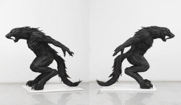 Recycled Tire Sculptures by Yong Ho Ji | Colossal