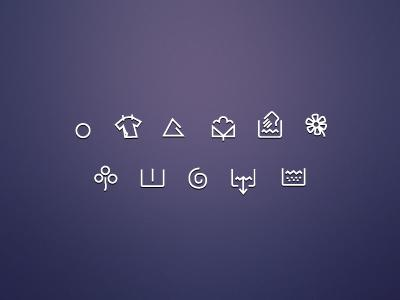 Freebie Washing Machine Icons PSD by Jan Losert