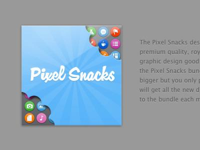 Pixel Snacks Bundle Artwork by Norm