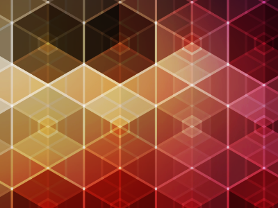 Hexagonal iPhone Wallpaper by Ralph Mayer