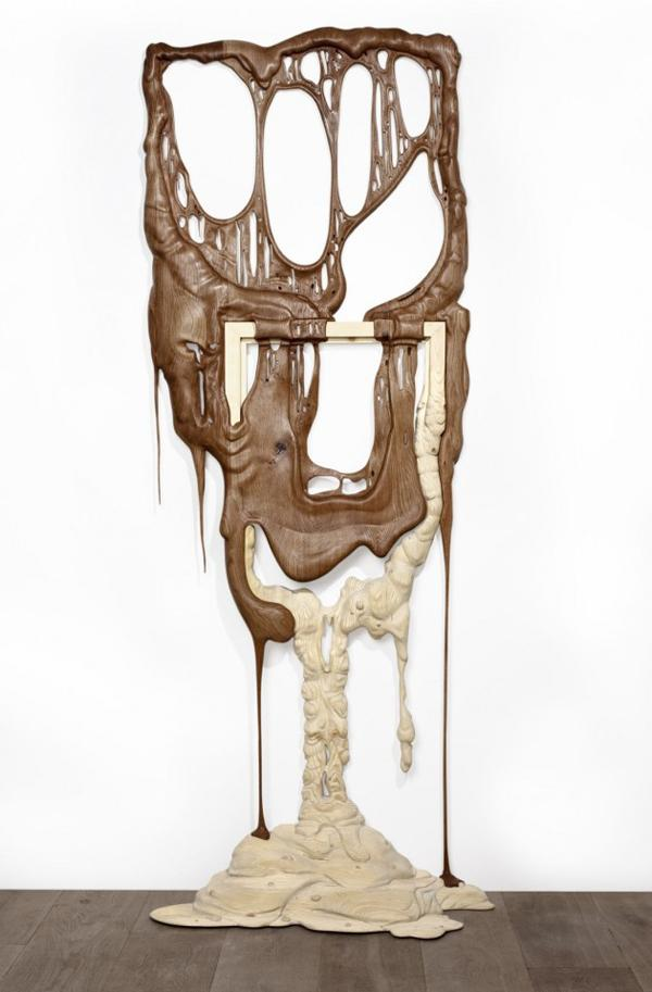 Bonsoir Paris Melting Wood Sculptures | InteriorHolic.com