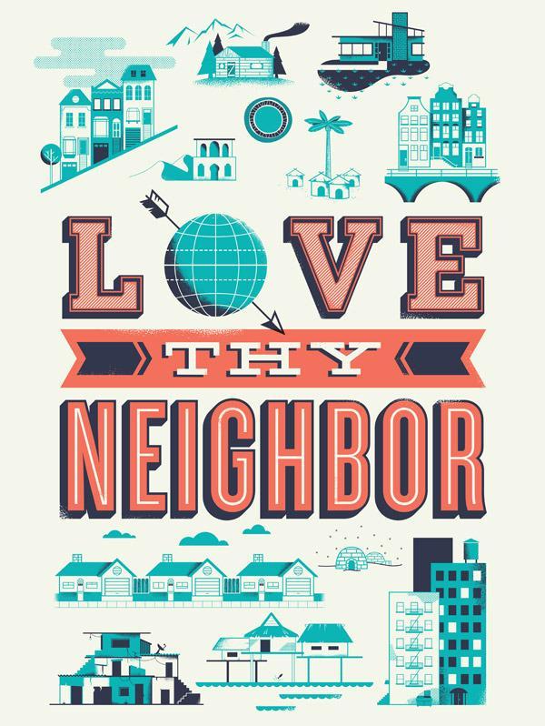 Help Ink — Love Thy Neighbor