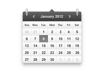 Calendar by Alexey Chizhov