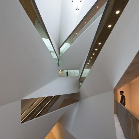Architectural Design: Herta and Paul Amir Building at the Tel Aviv Museum of Art by Preston Scott Cohen | Interior Design Blog - Interior Design Ideas, Tips & Inspiration