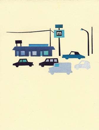 Blue Motel - Takashi Iwasaki