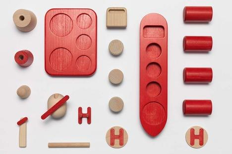 Shipping and Archipelago Wood Toys by Andreas Murray