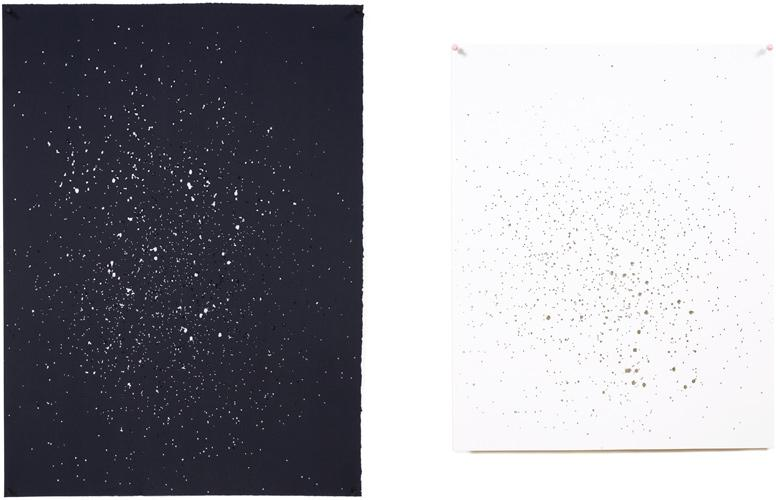 CONSTELLATIONS (BLACK & WHITE PAPER), 2009