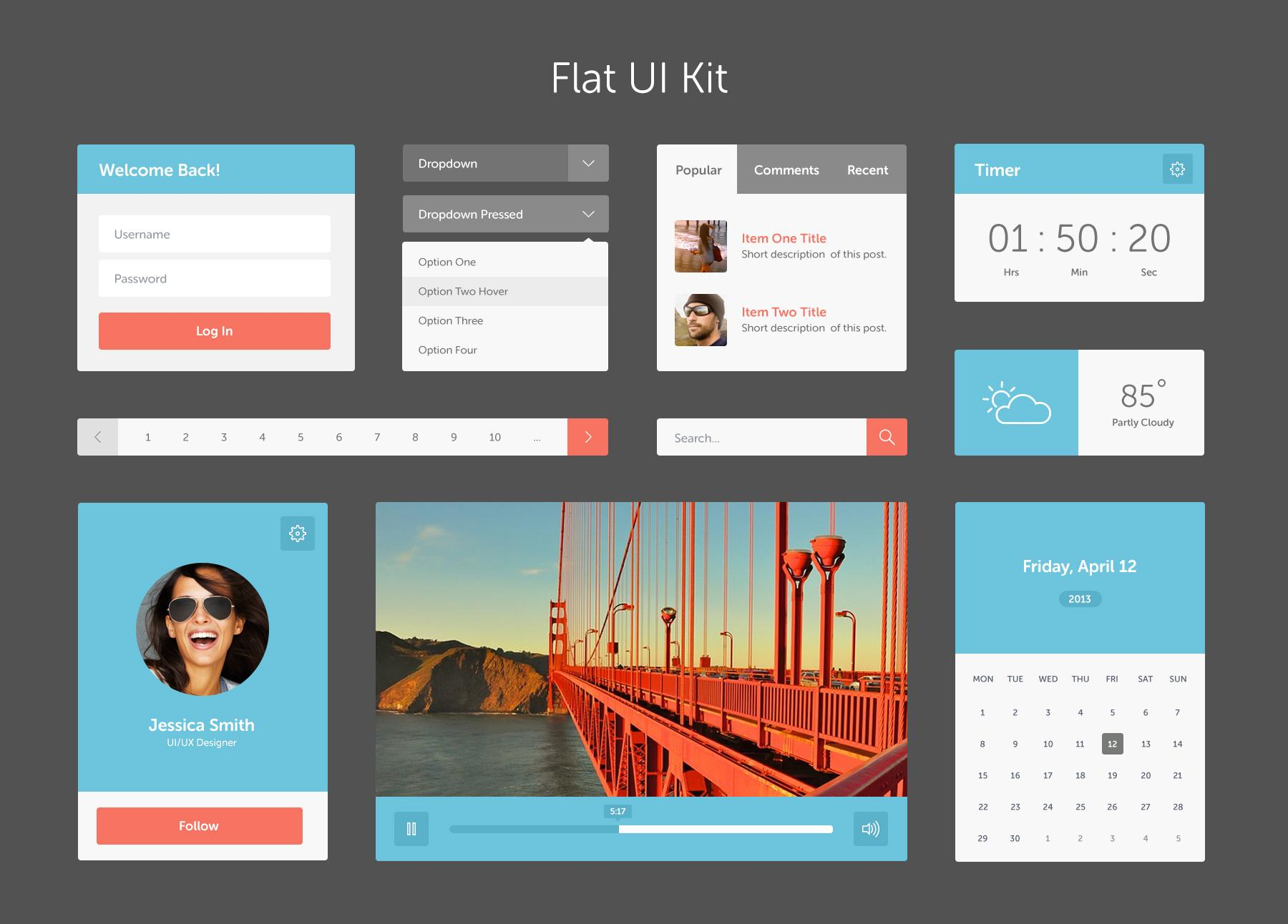 flat-UI-Kit.jpg by Megan Fox