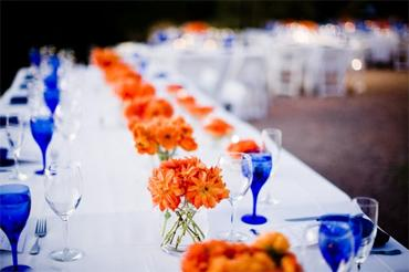 Google Image Result for http://www.altamodabridal.com/wp-content/uploads/blue-orange-wedding-table.jpg
