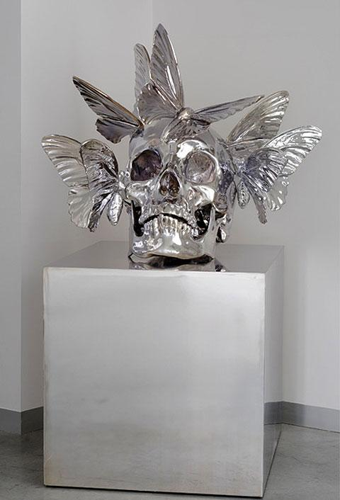 Human skulls made into elaborate art by Philippe Pasqua — Lost At E Minor: For creative people