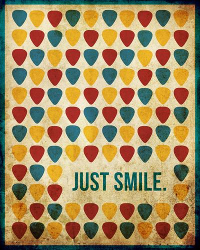 Just Smile. Art Print by Danielle Furman | Society6