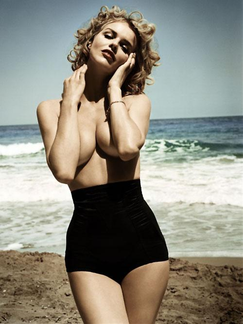 Woman | Eva Herzigova | Vincent Peters | GQ Italy Aug 2008 - 3 Sensual Fashion Editorials | Art Exhibits - Anne of Carversville Women's News