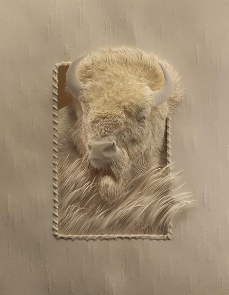 Le sculture di carta di Calvin Nicholls « FOLLIA CREATIVA: inspiration, spot, guerrilla, flash mob, viral