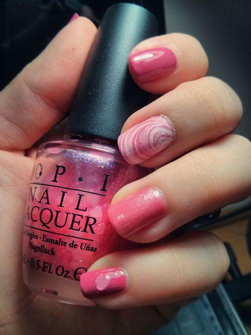 October nails. | We Heart It