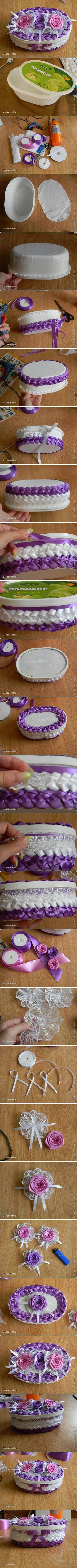 DIY Box of Ribbon DIY Projects | UsefulDIY.com