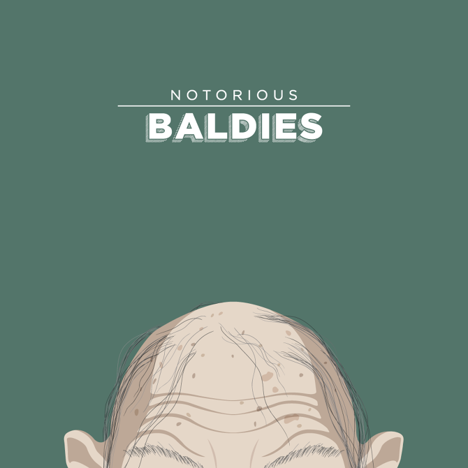Notorious Baldies - Mr. Peruca - Illustrator
