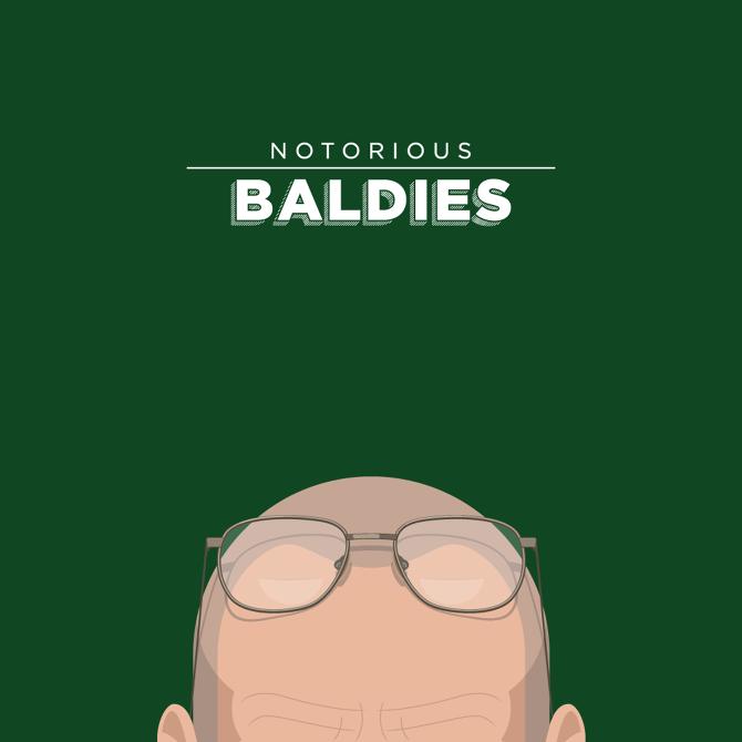 Notorious Baldies - Mr. Peruca - Illustrator