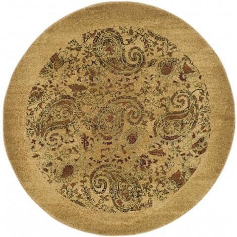 The Tabiano Machine Made Area Rug in Tan | RugsNow.com