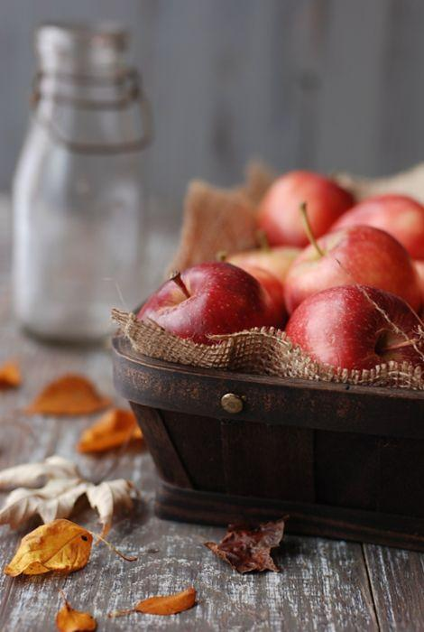 I have a rustic old basket like this just ... | Pleasures & Treasures