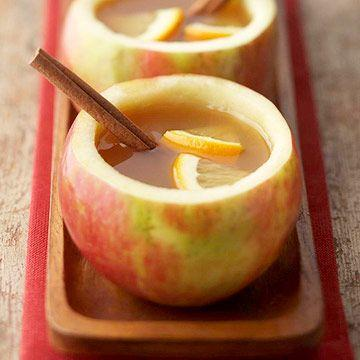 apple mugs. i love this idea | Fall