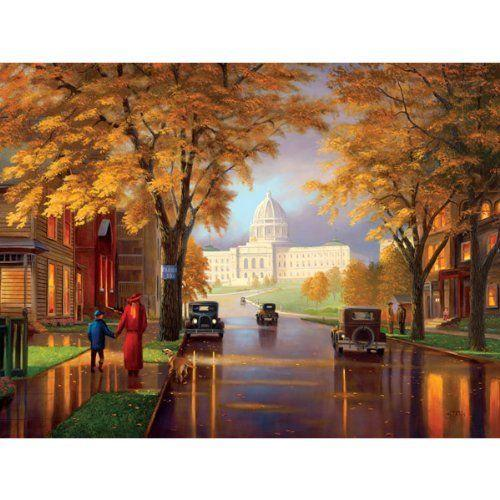 Autumn at the Capital 550 pc by SERENDIPITY ... | Puzzles from Amazon