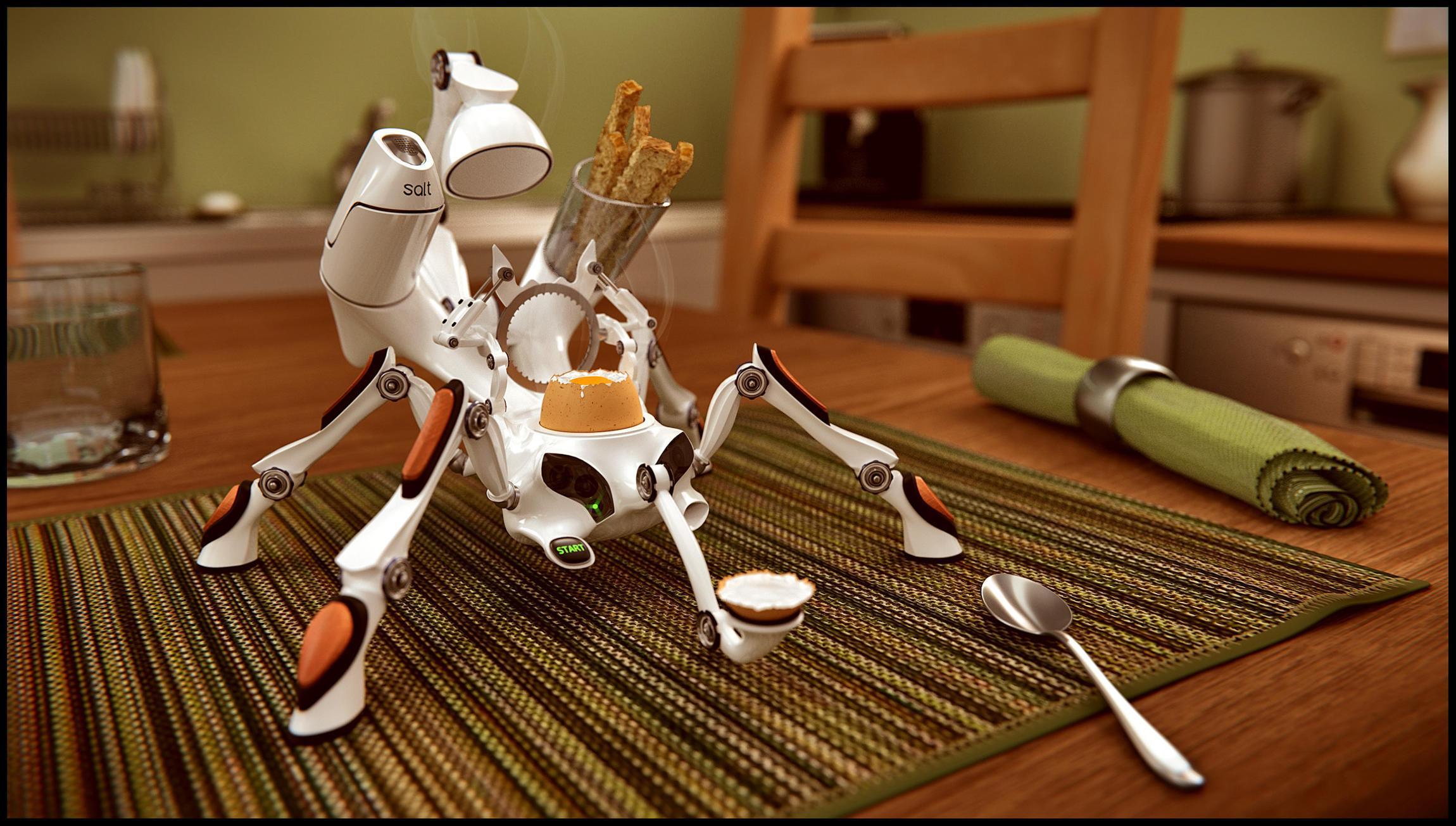 Eggcup robot