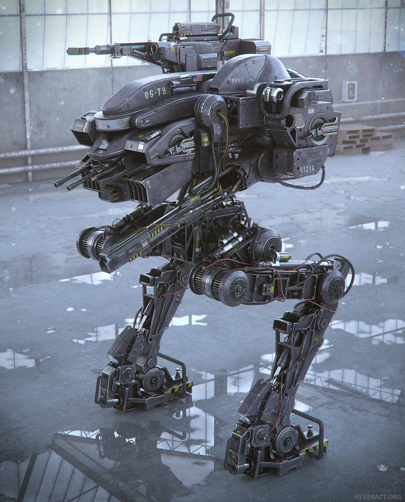 Contest: Create a Robot in Blender!   Blender Cookie