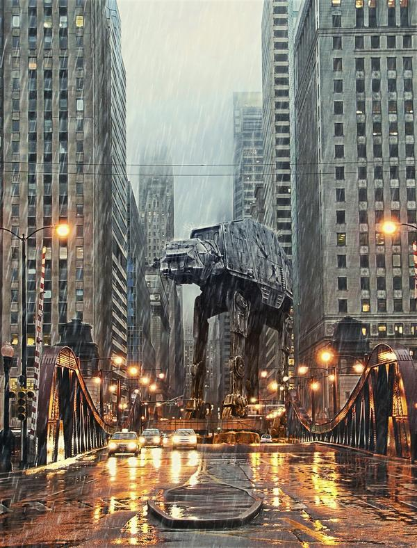 AT-AT in Chicago