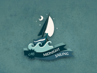 Midnight Sailing by szende brassai