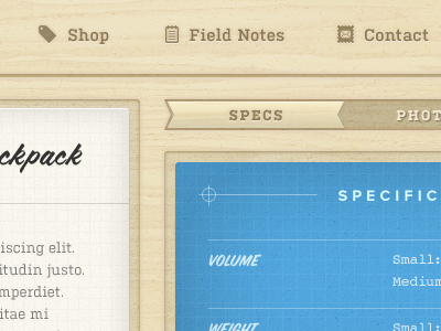 Wood UI by Dave Ruiz