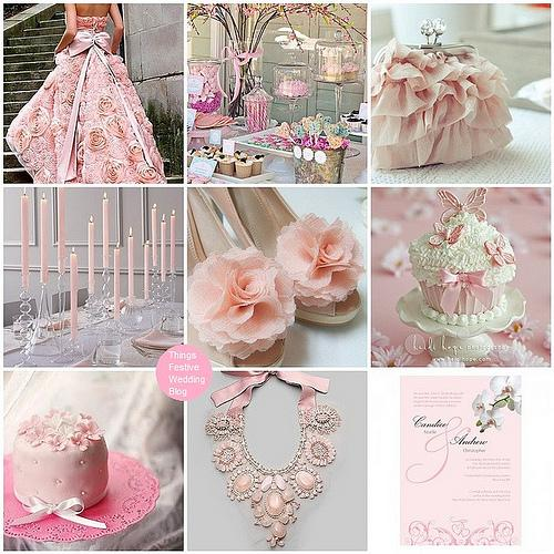 Things Festive Wedding Blog: wedding inspiration board